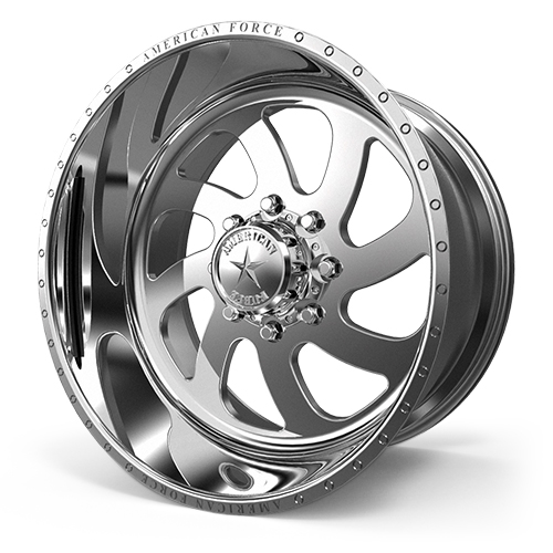 American Force Wheels 76 Blade - Polished