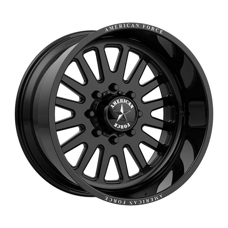 American Force Wheels F20 Atom - Gloss Black Rim