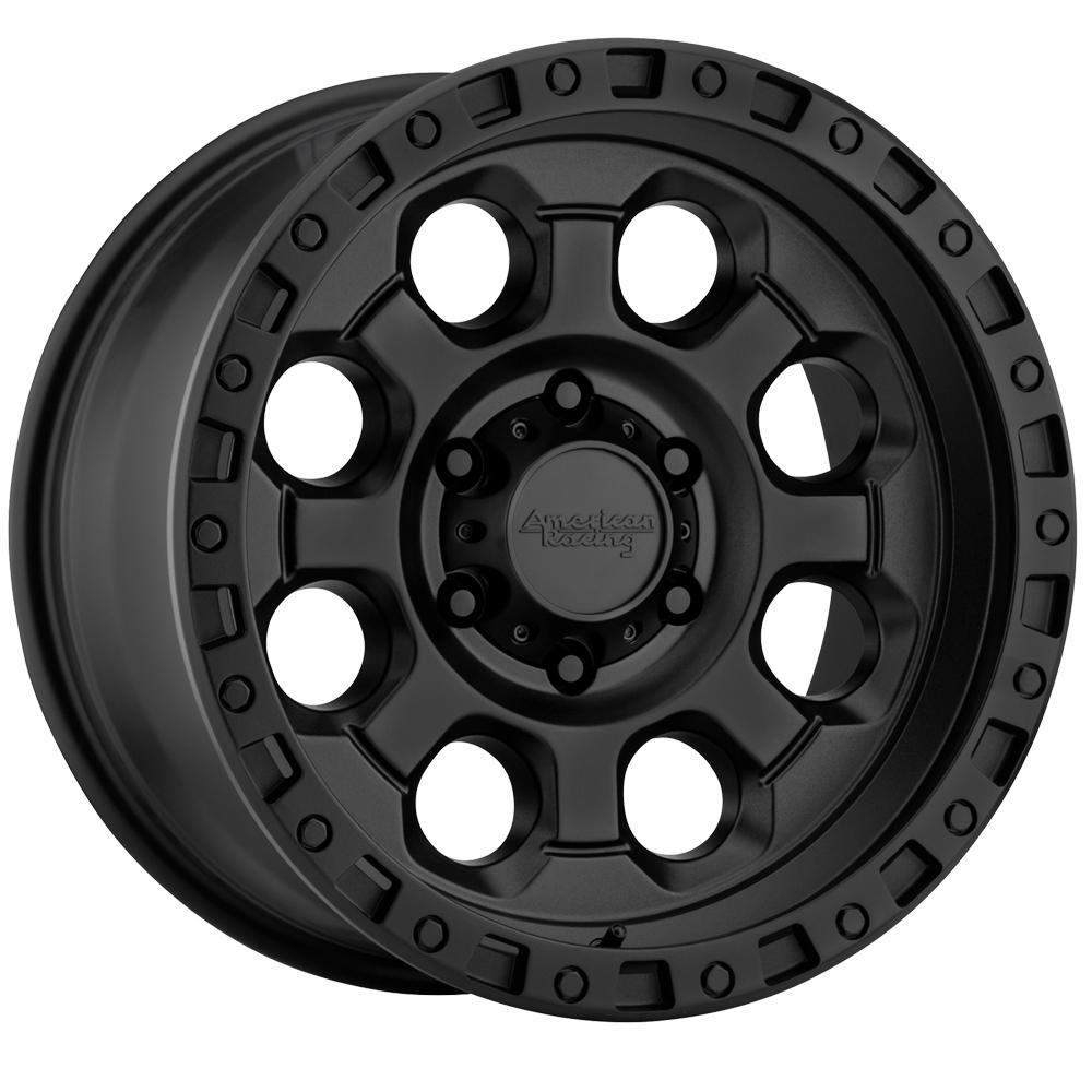 American Racing Wheels AR201 - Cast Iron Black Rim