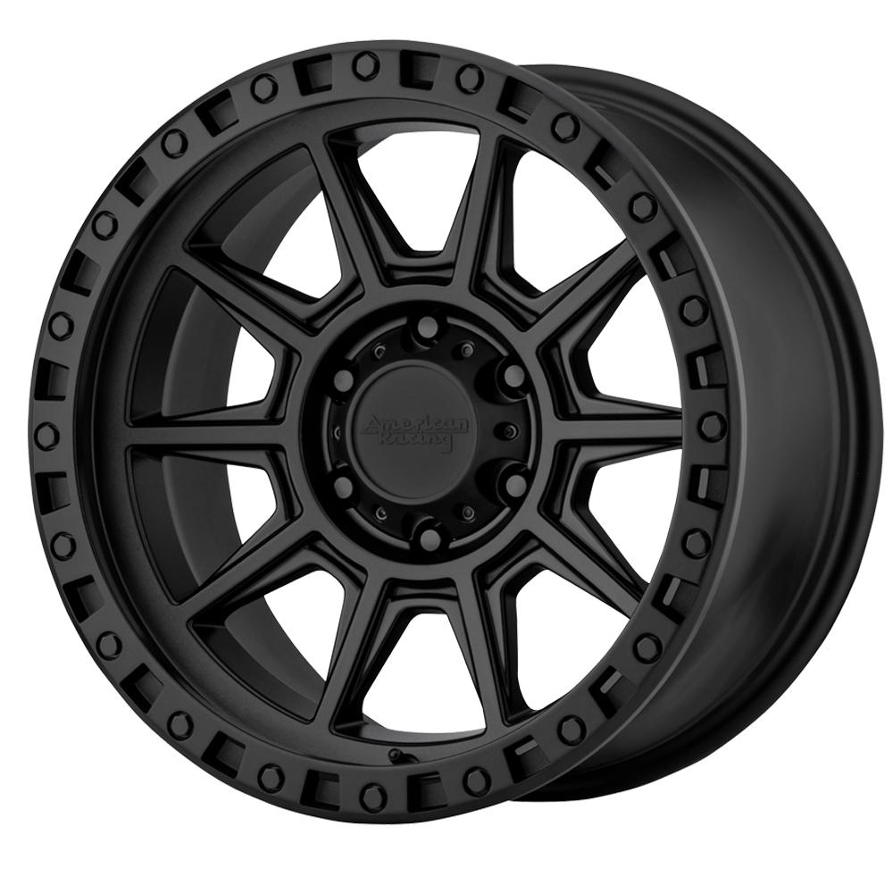 American Racing Wheels AR202 - Black Rim