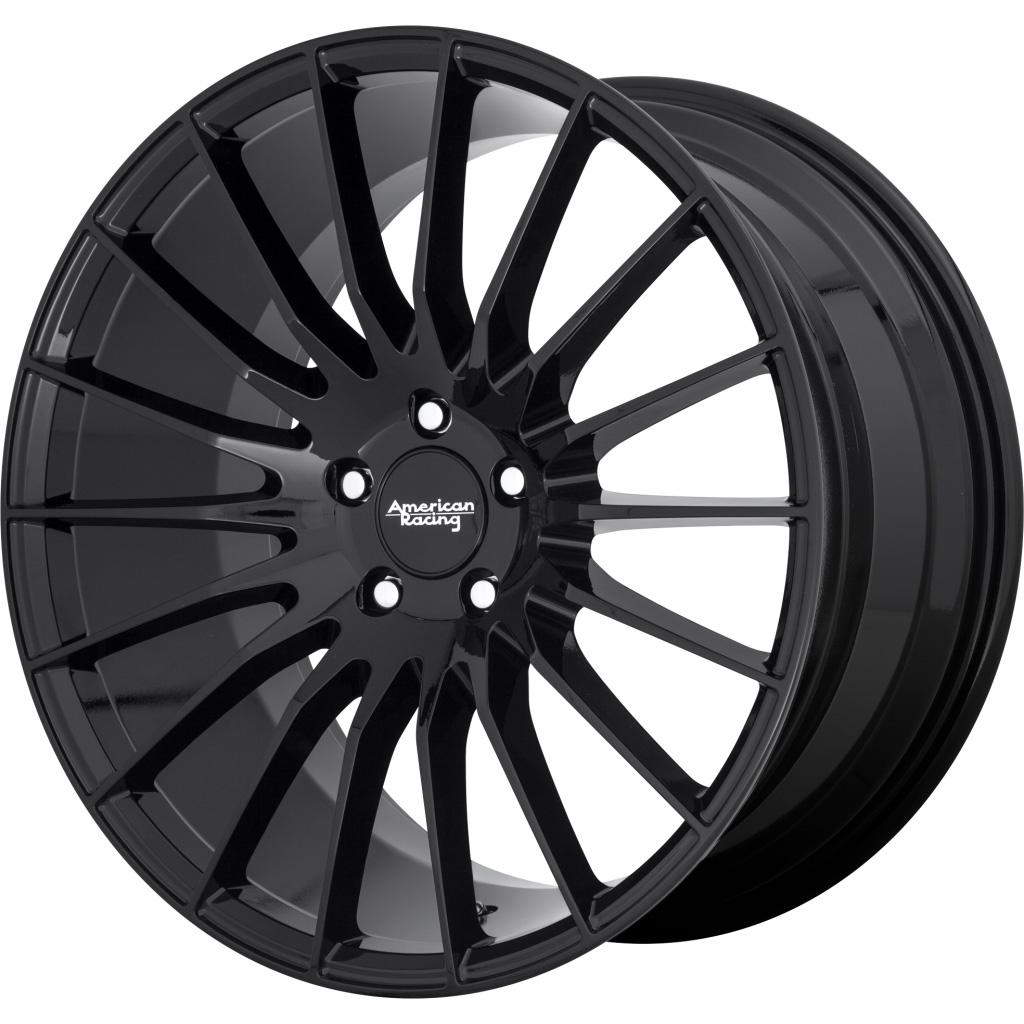 American Racing Wheels AR934 Fastlane - Gloss Black Rim