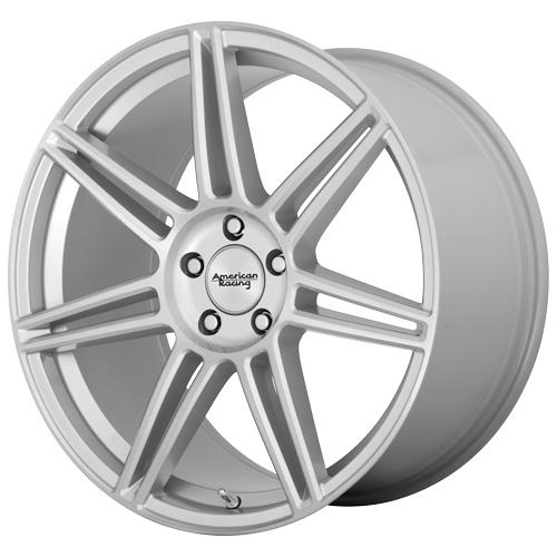 American Racing Wheels AR935 REDLINE - Brushed Silver Rim