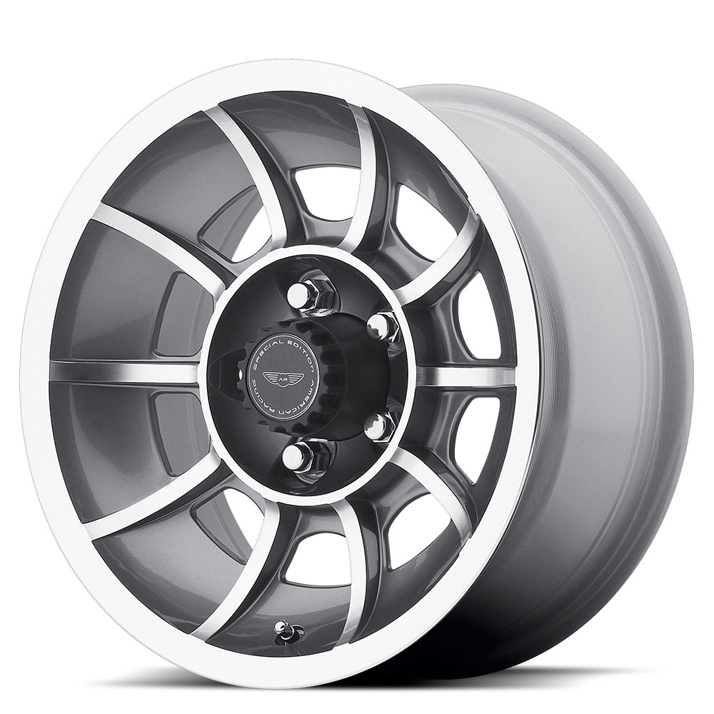American Racing Wheels VN47 Vector - Anthracite Machined Rim