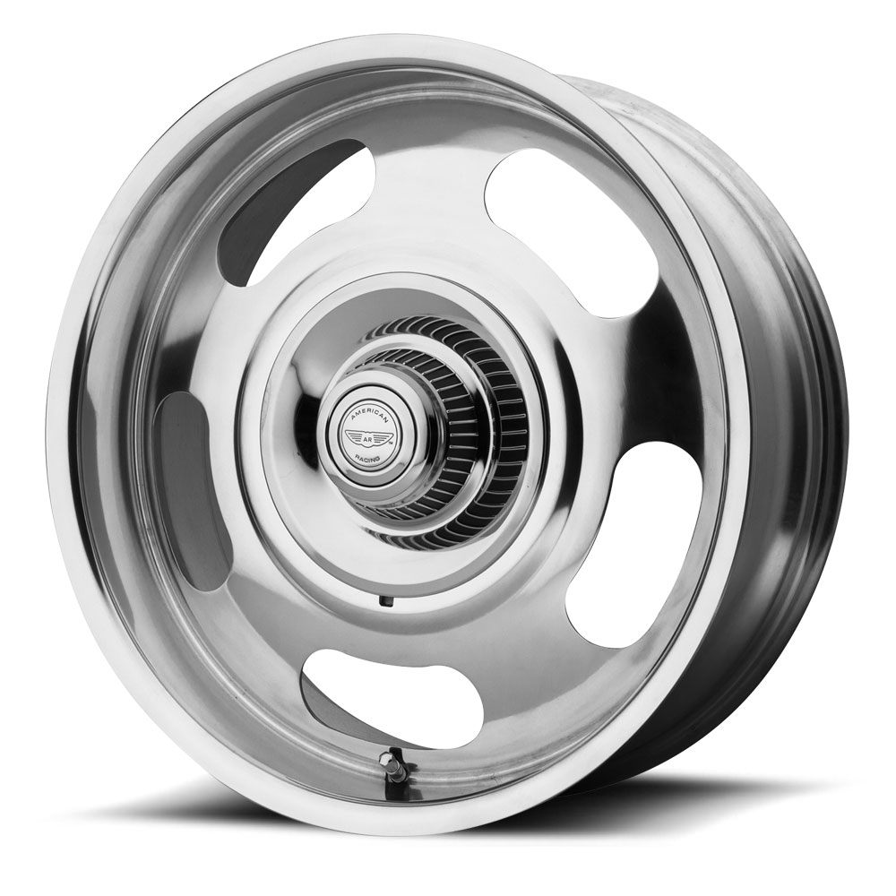American Racing Wheels VN506 Rally 1PC - Polished Rim