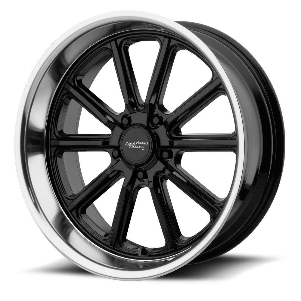 American Racing Wheels VN507 Rodder - Gloss Black with Diamond Cut Lip