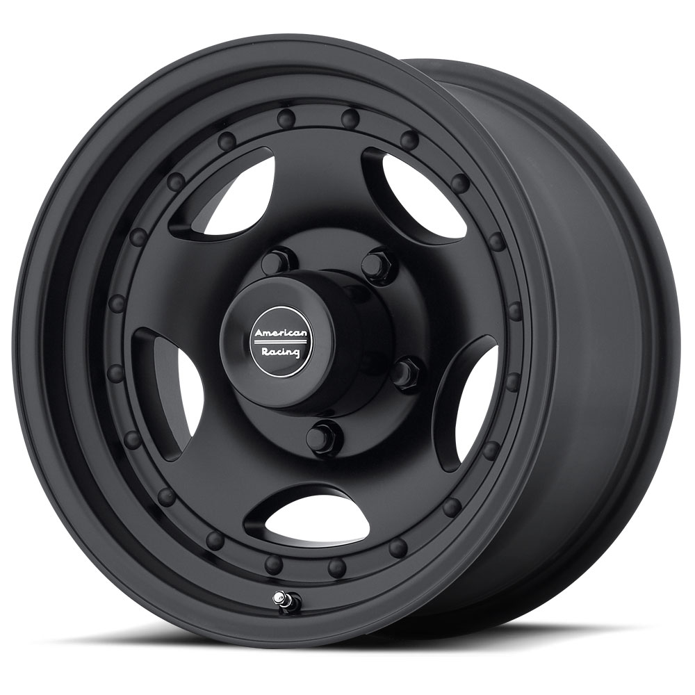 American Racing Wheels AR23 - Satin Black with Clearcoat