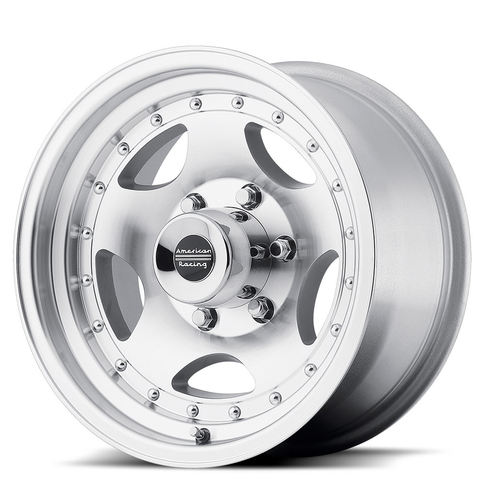 American Racing Wheels AR23 - Machined with Clearcoat