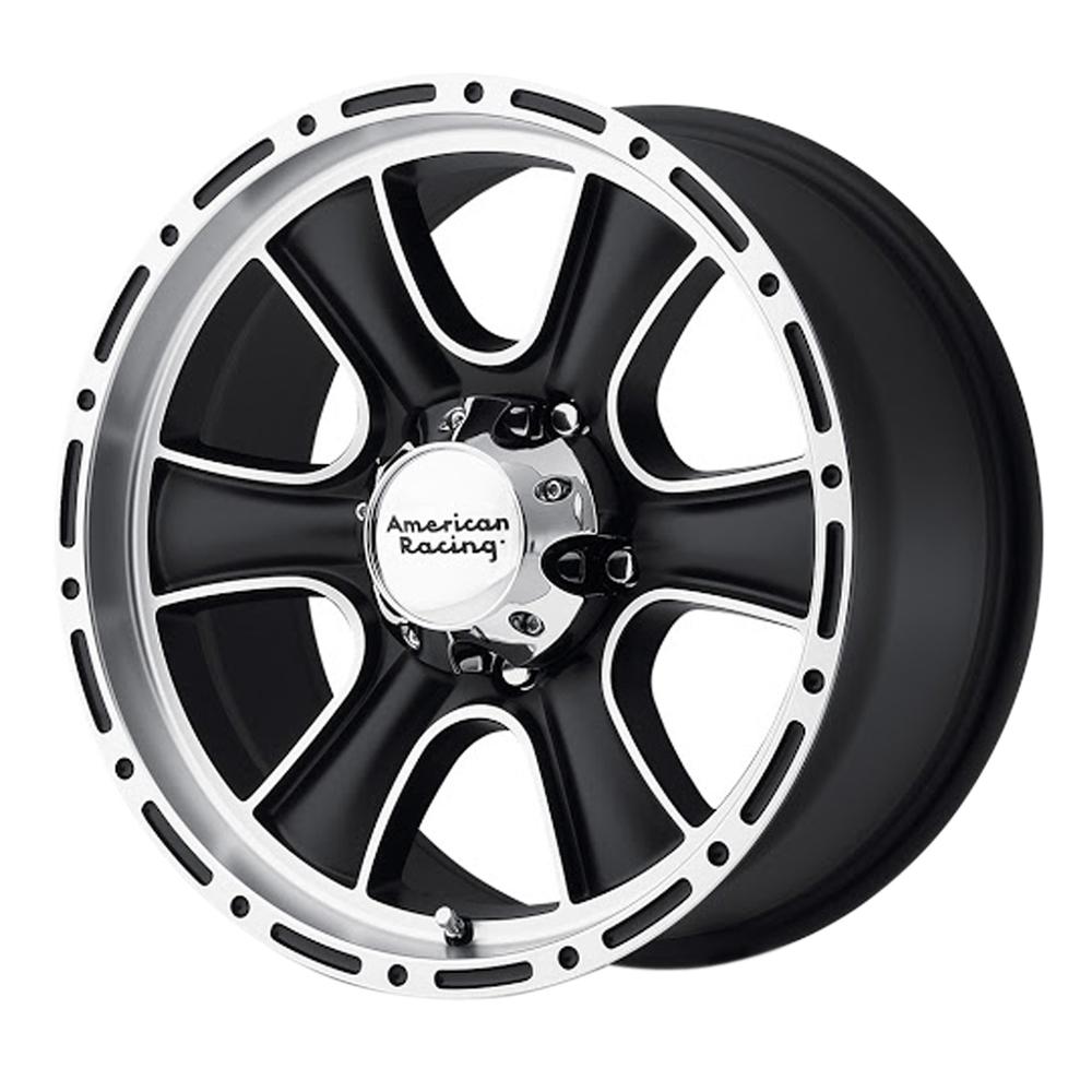 American Racing Wheels AR902 - Satin Black Machined Rim