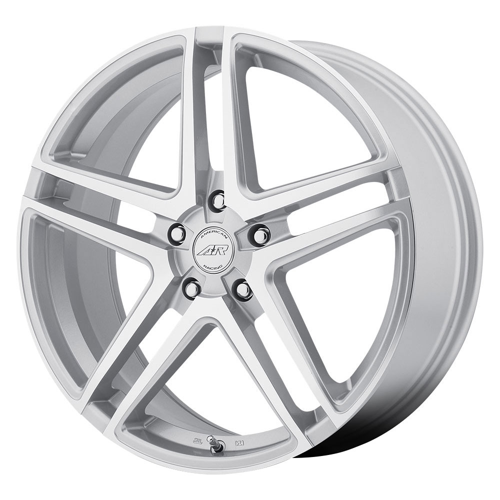 American Racing Wheels AR907 - Bright Silver / Machined Face Rim