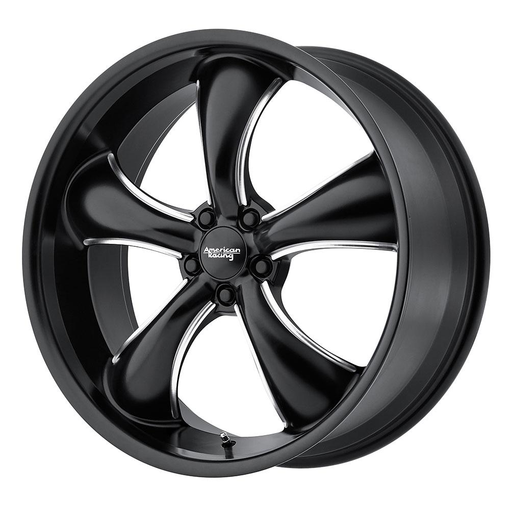 American Racing Wheels AR912 TT60 - Satin Black Milled