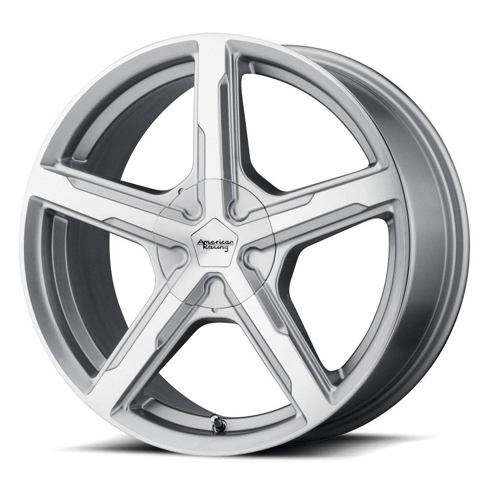 American Racing Wheels AR921 Trigger - Silver Machined Rim