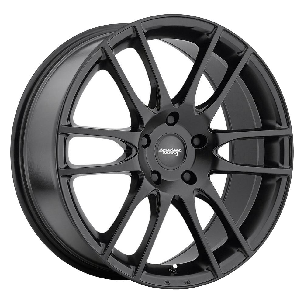 American Racing Wheels AR937 Pivot - Satin Black Rim