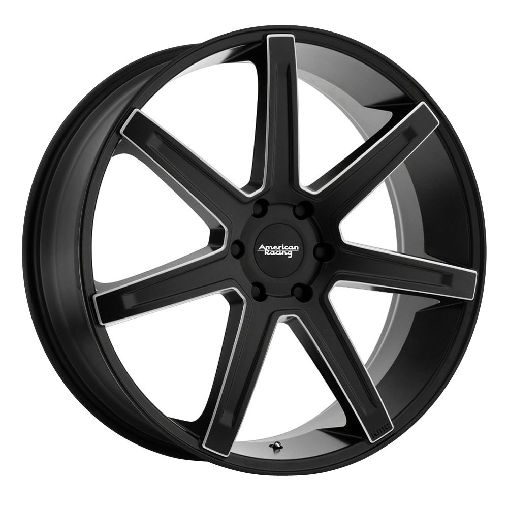 American Racing Wheels AR938 Revert - Satin Black Milled Rim