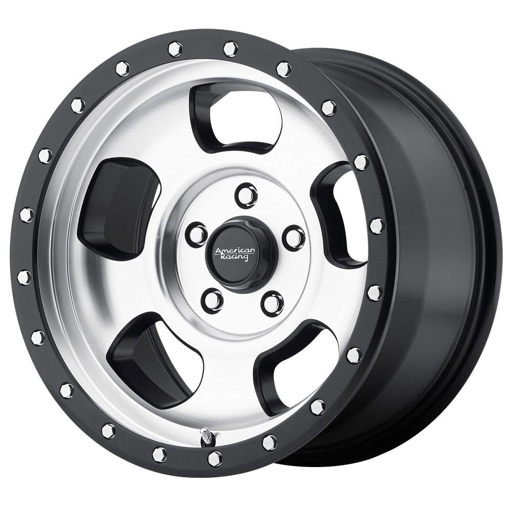 American Racing Wheels AR969 - Black Mach Rim