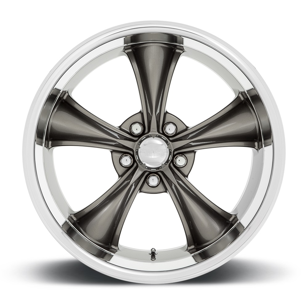 American Racing Wheels VN338 Torq Thrust Boss - Graphite with Diamond Cut Lip Rim