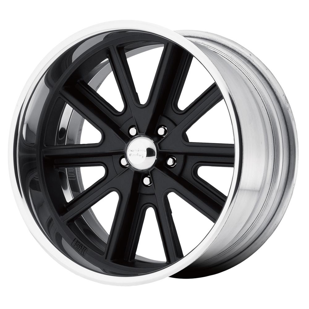 American Racing Wheels VN407 - Black Center Polished Barrel Rim