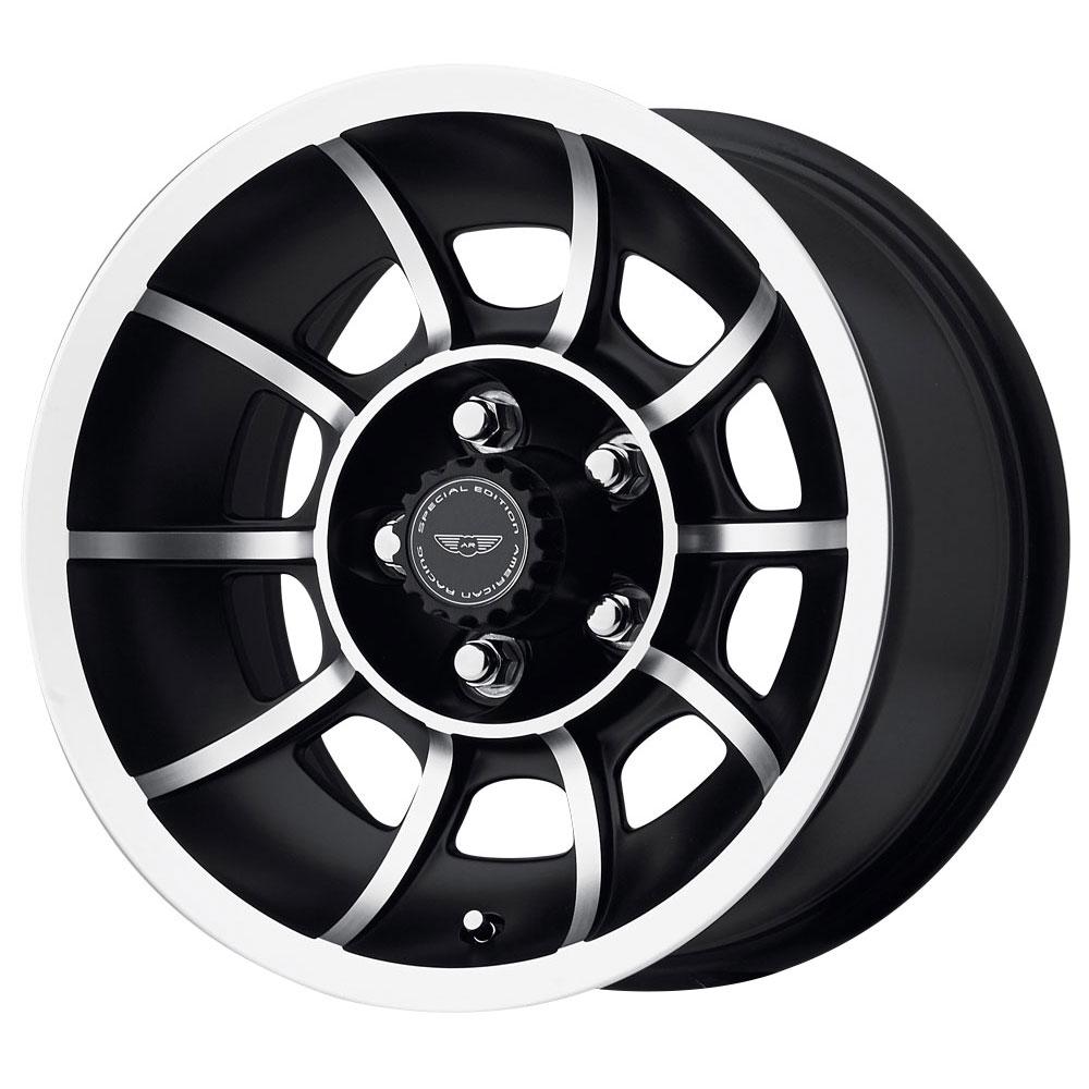 American Racing Wheels VN47 Vector - Satin Black Machined Rim - 15x8.5