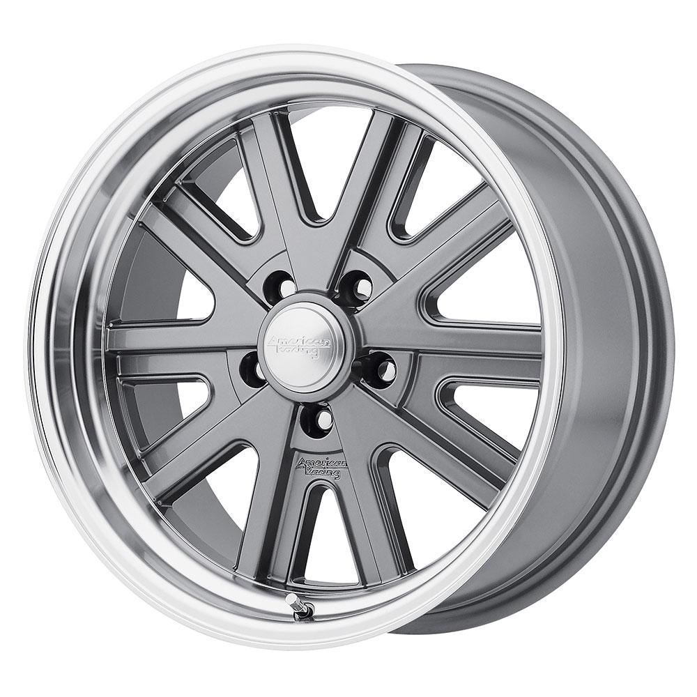 American Racing Wheels VN527 427 Mono Cast - Gray Machined