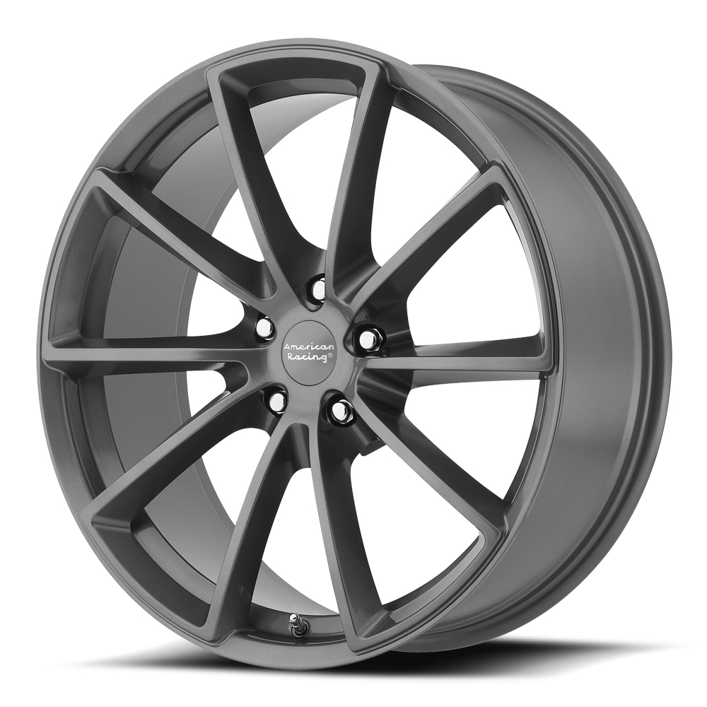 American Racing Wheels VN806 Fast Back - Anthracite with Machined Face