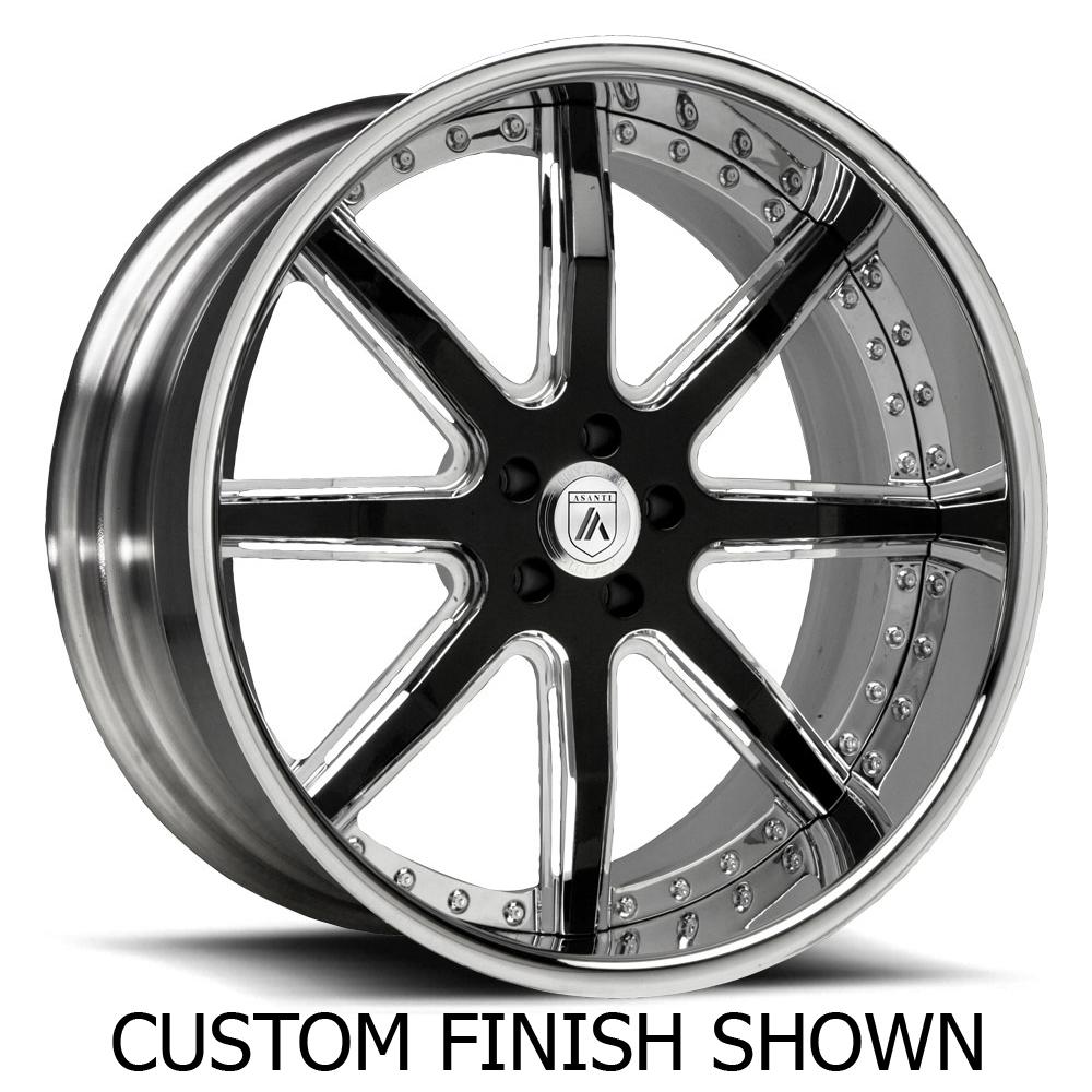 Asanti Wheels AF158 - Custom Finishes Rim