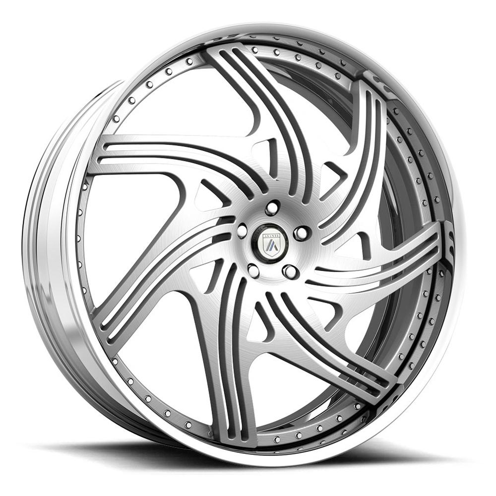 Asanti Wheels AF859 - Custom Finishes Rim - 19x7