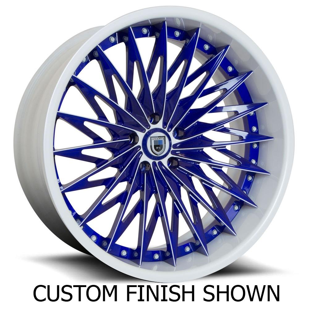 Asanti Wheels CX828 - Custom Finishes Rim