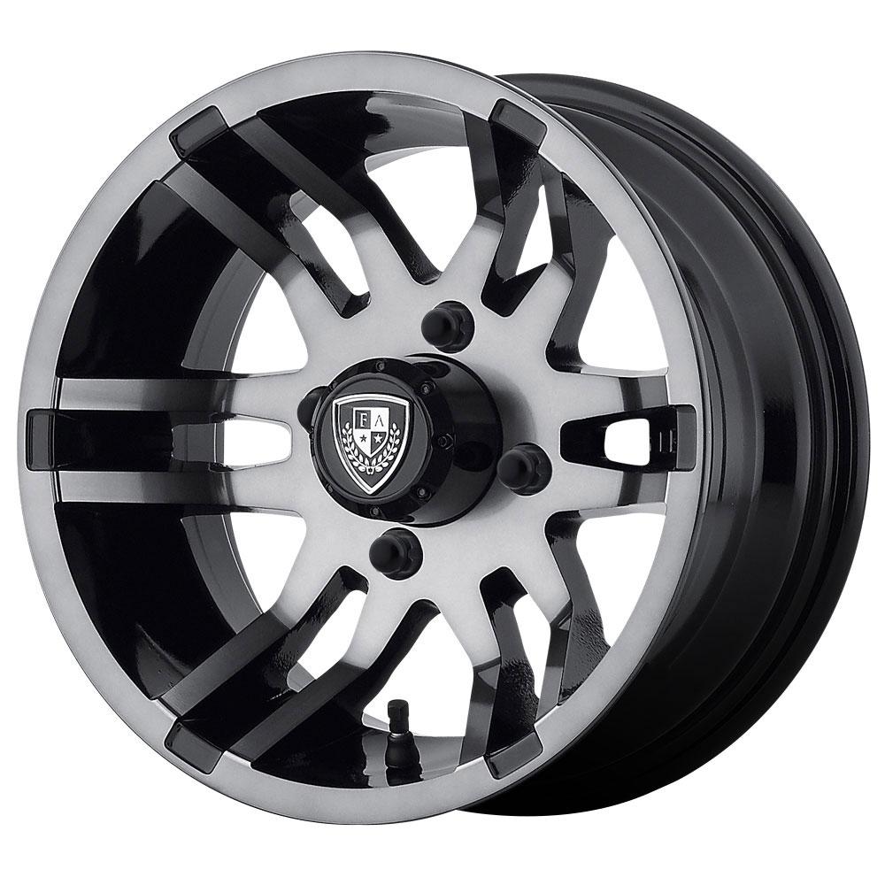 Fairway Alloy Wheels FA140 Flex - Dark Tint Rim - 14x6.5