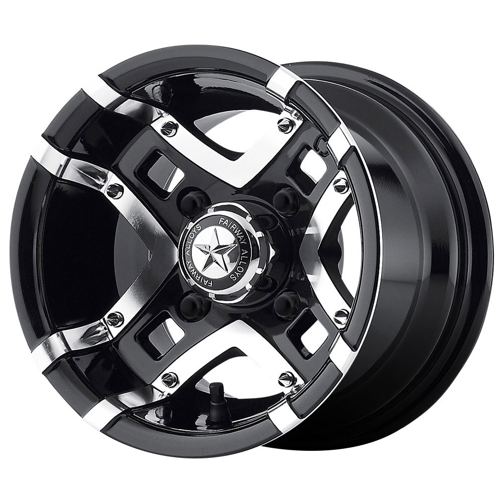 Fairway Alloy Wheels FA123 Prestige - Gloss Black Machined Rim - 10x7