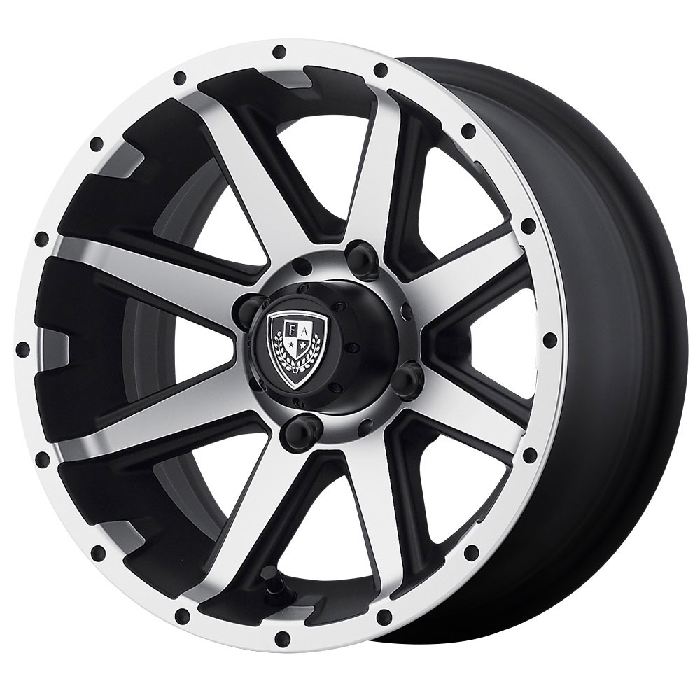 FA136 Rebel - Machined Matte Black - 14x6.5