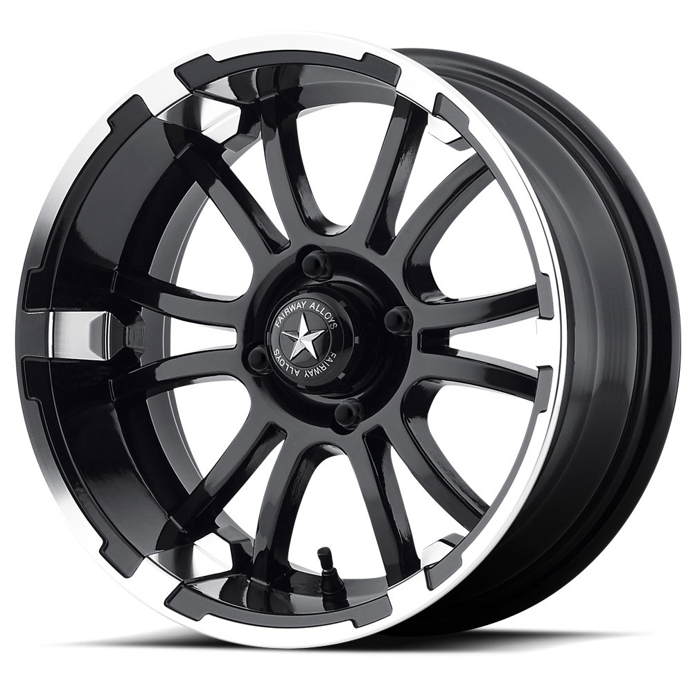 FA134 Sixer - Machined Matte Black - 14x6.5