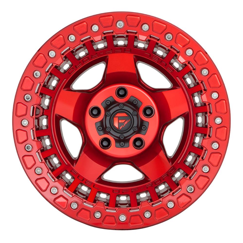 Fuel Wheels D117 Warp - Candy Red Rim