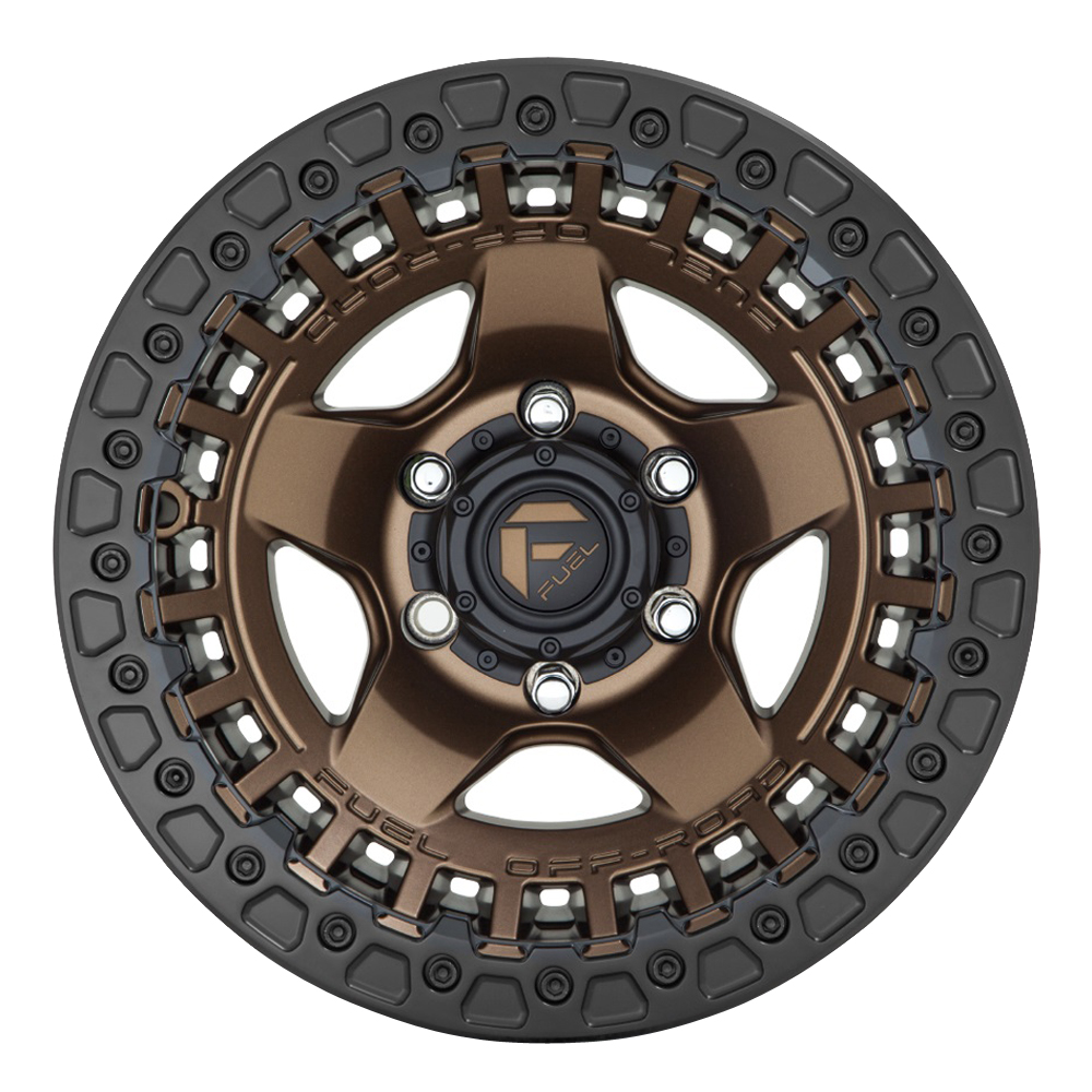 Fuel Wheels D119 Warp - Matte Bronze Rim