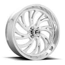 Fuel UTV Wheels D203 Kompressor - High Luster Polished Rim