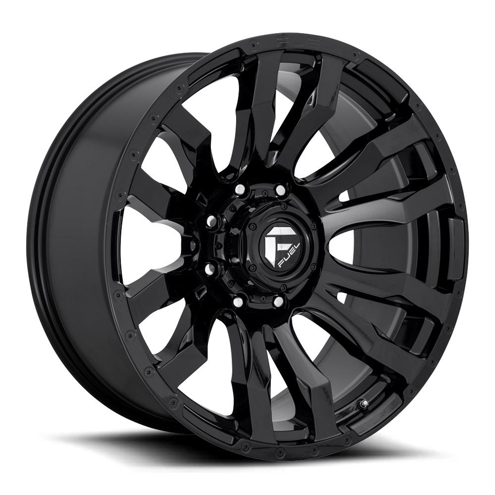 Fuel Wheels Blitz D675 - Gloss Black Rim