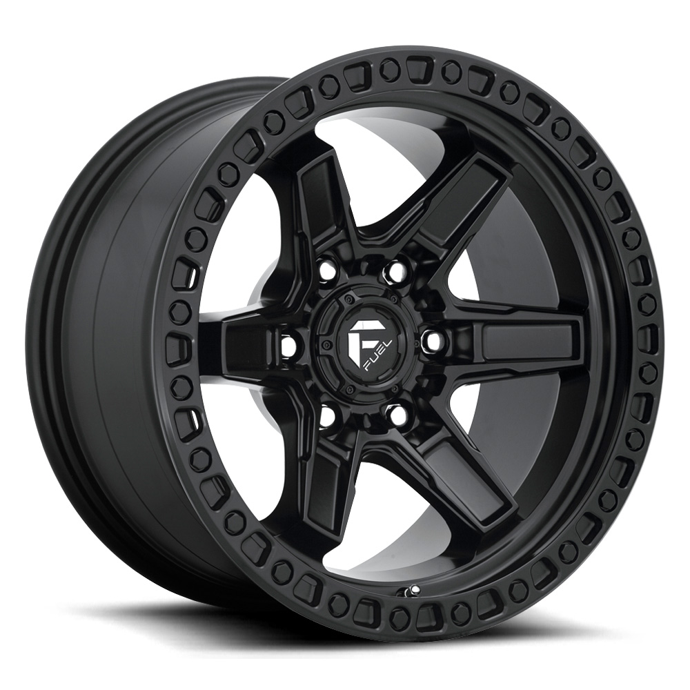Fuel Wheels Kicker D697 - Matte Black Rim