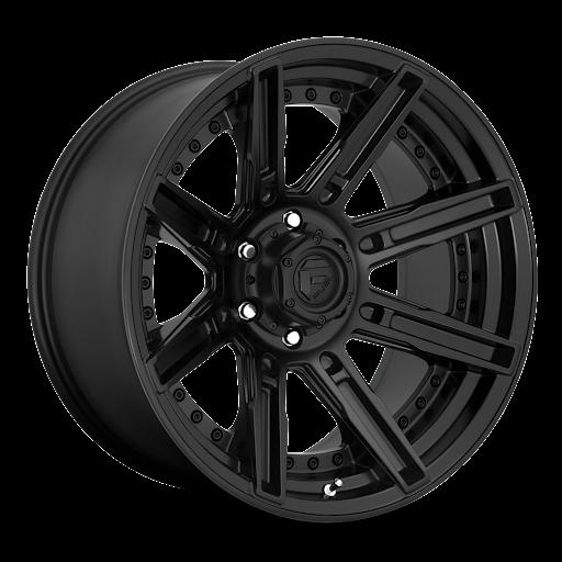 Fuel Wheels D709 Rogue - Matte Black Rim