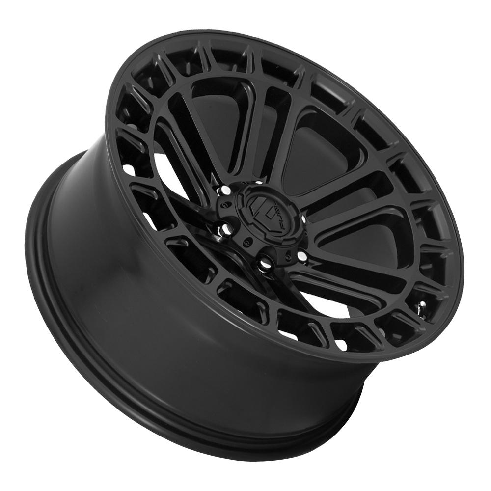 Fuel Wheels D718 Heater - Matte Black Rim