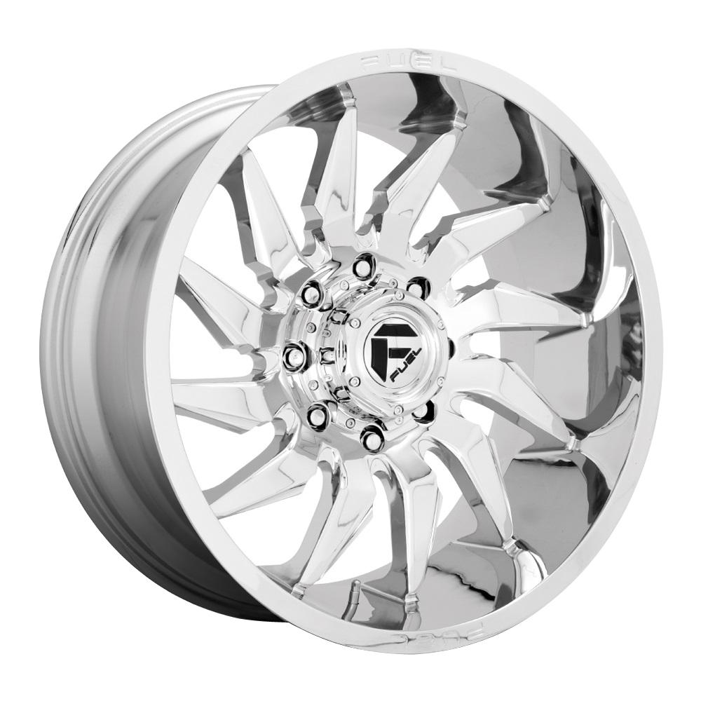 Fuel Wheels D743 Saber - Chrome Rim