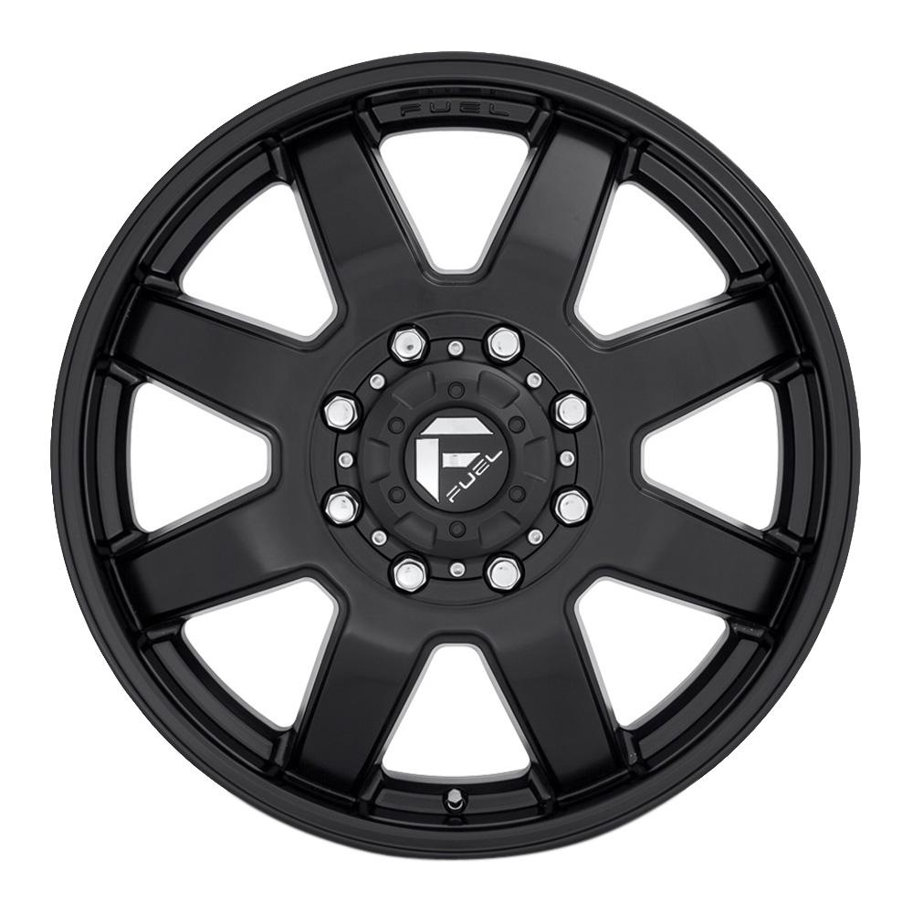 Fuel Wheels Maverick D436 Dually - Black Rim