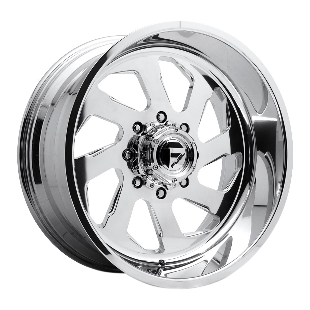 Fuel Wheels Mono DD39 Dually Front - Polished Rim