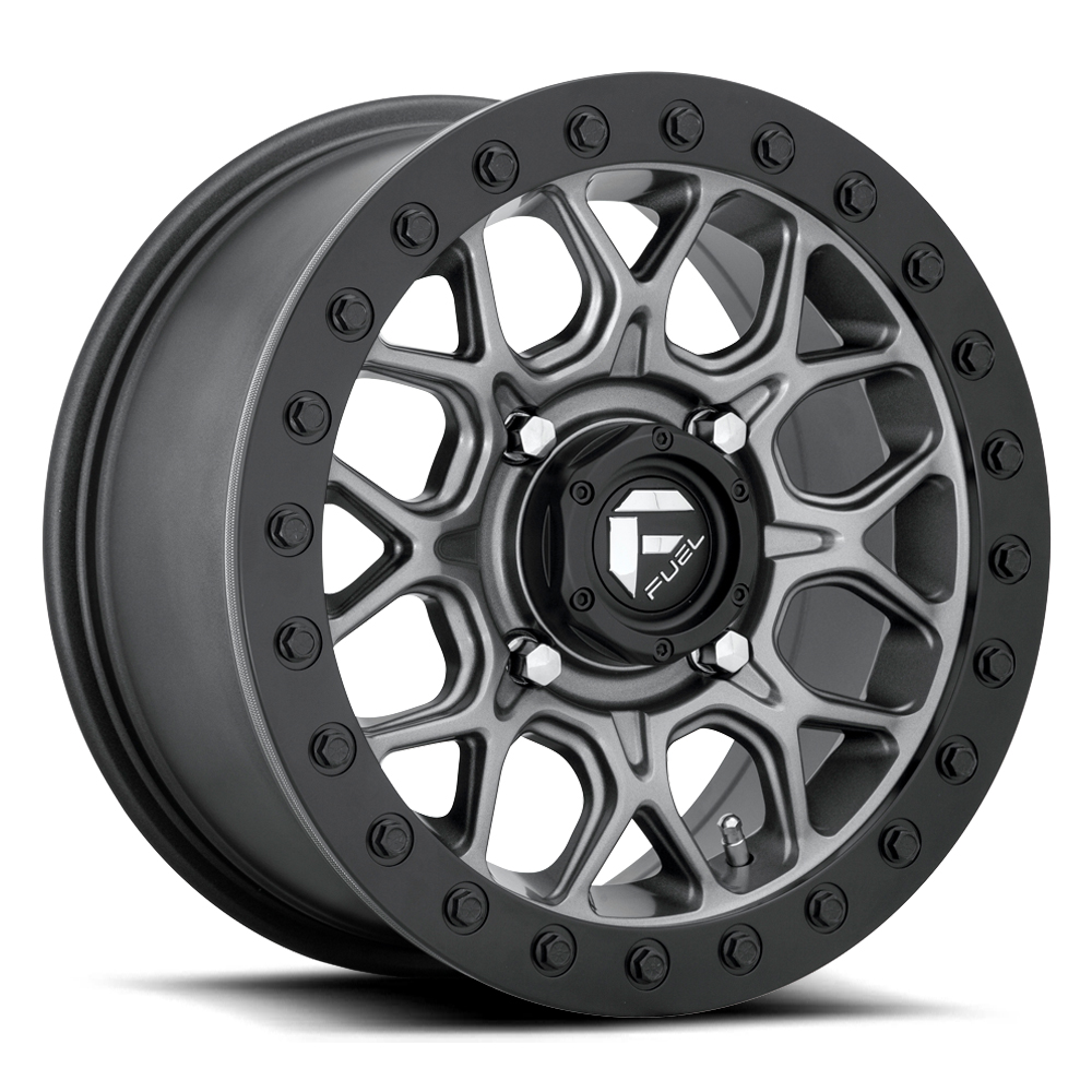 Fuel UTV Wheels Tech D919 - Matte Gunmetal Rim