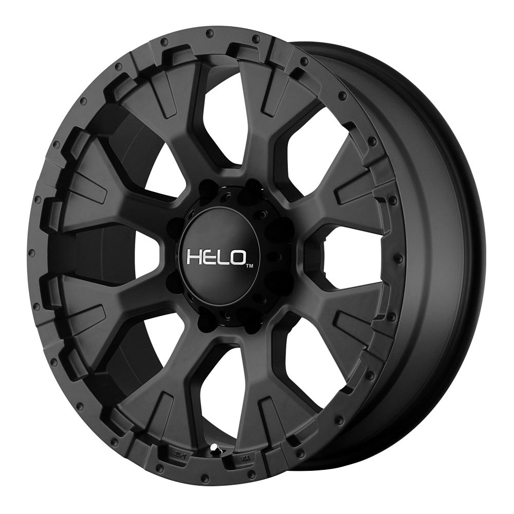 Helo Wheels HE878 - Satin Black Rim - 16x9