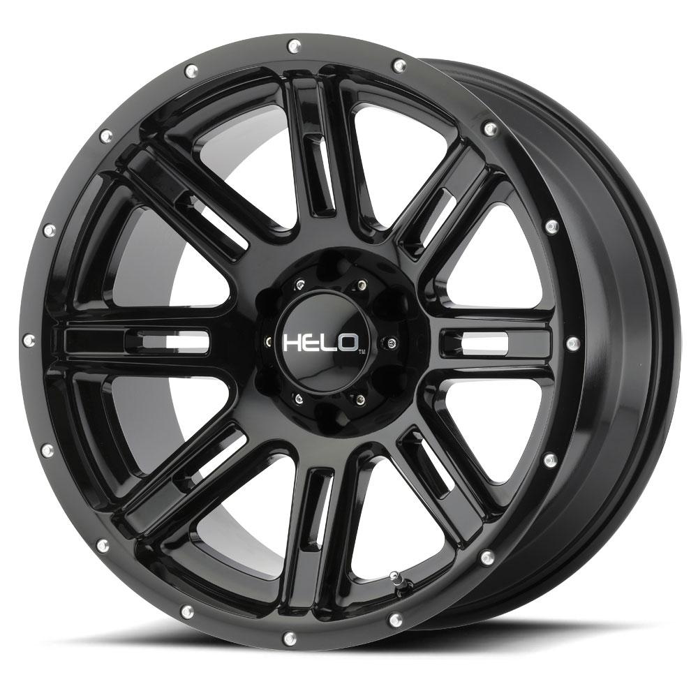 Helo Wheels HE900 - Gloss Black Rim