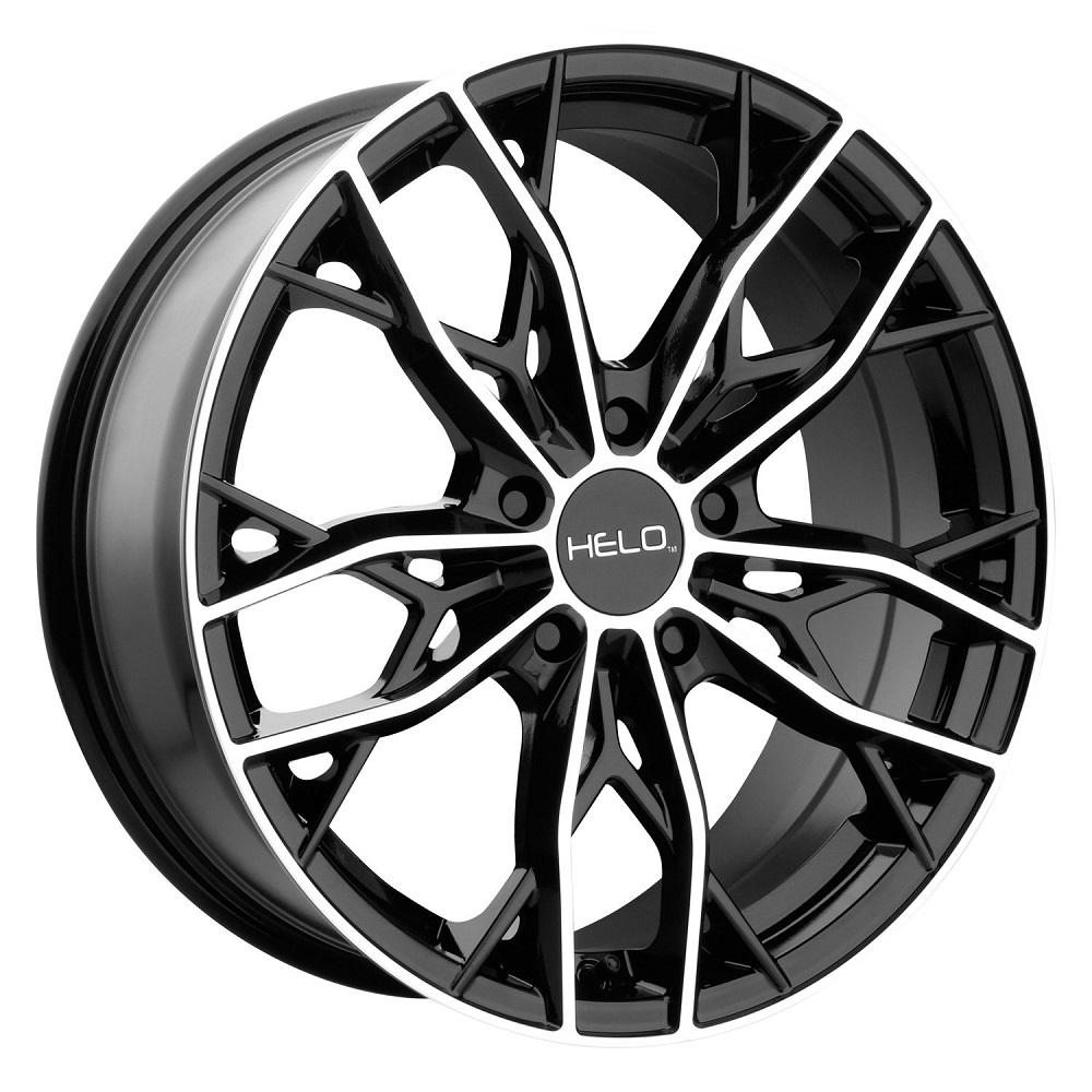 Helo Wheels HE907 - Gloss Black Machined Rim