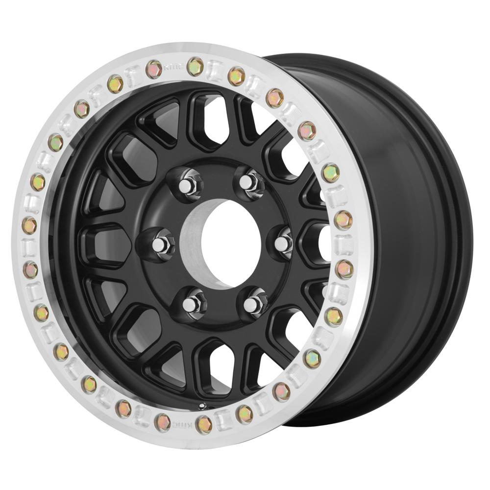 KMC Wheels KM234 Grenade Desert - Satin Black Rim