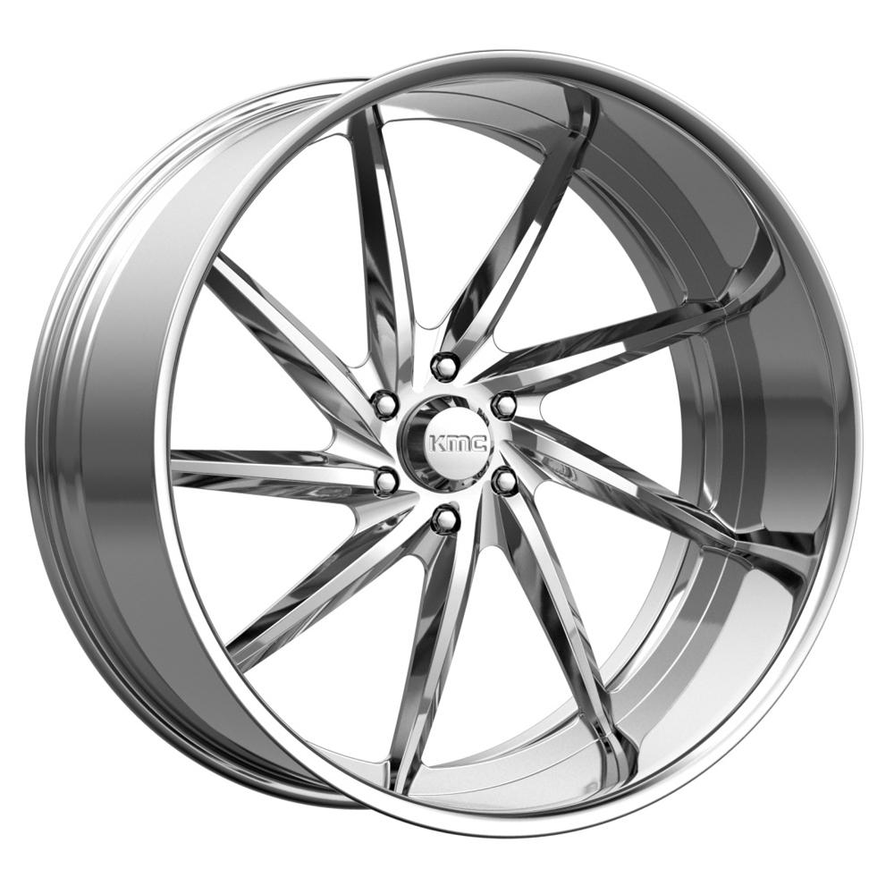 KMC Wheels KM402 - Polished Rim