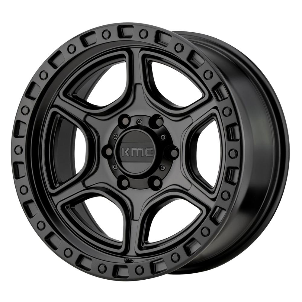 KMC Wheels KM539 Portal - Satin Black Rim