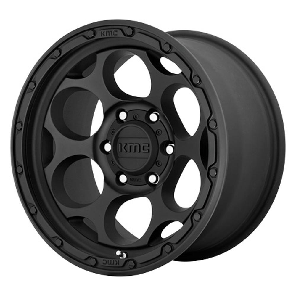 KMC Wheels KM541 DIRTY HARRY - Textured Black Rim