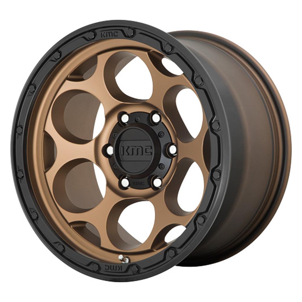 KMC Wheels KM541 DIRTY HARRY - Matte Bronze Black Lip Rim