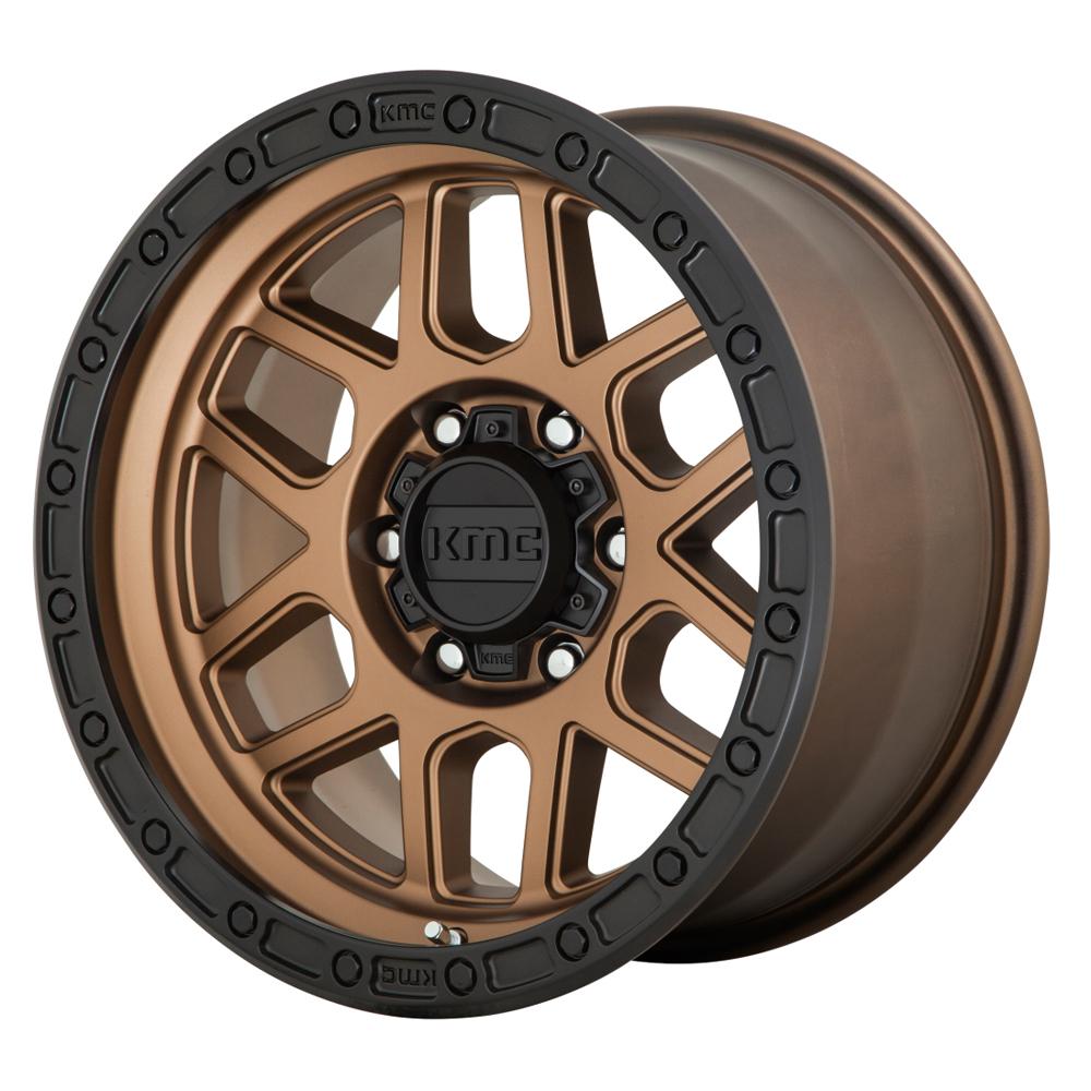 KMC Wheels KM544 - Matte Bronze/Black Rim